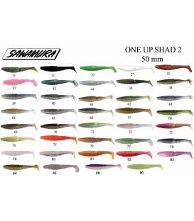 "Sawamura OneUp Shad 2""(5cm)"