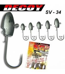 Decoy SV-34  jighead
